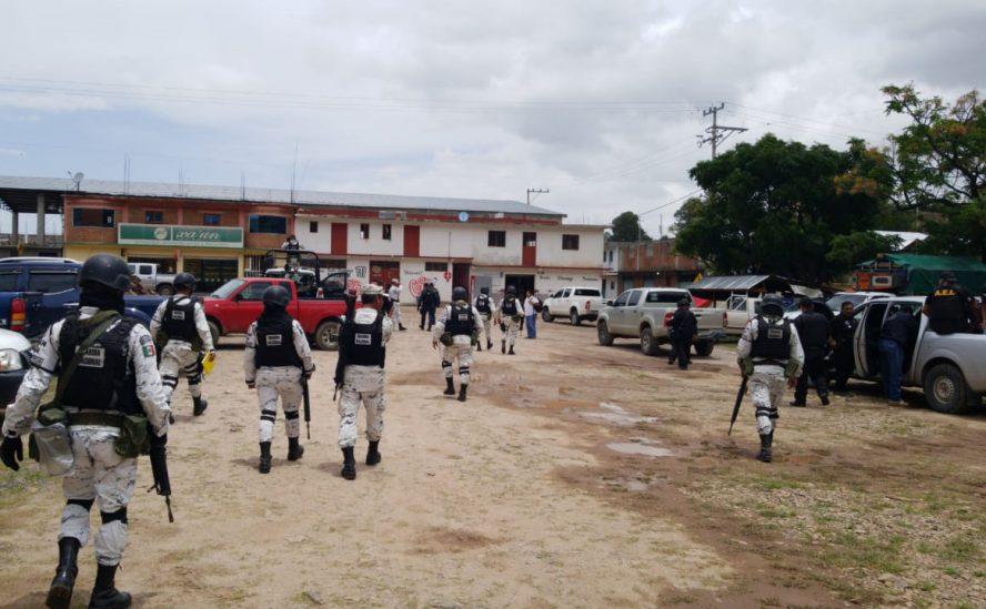 Fiscalía de Oaxaca realiza operativo de búsqueda de masculino probablemente privado de su libertad, en la Mixteca