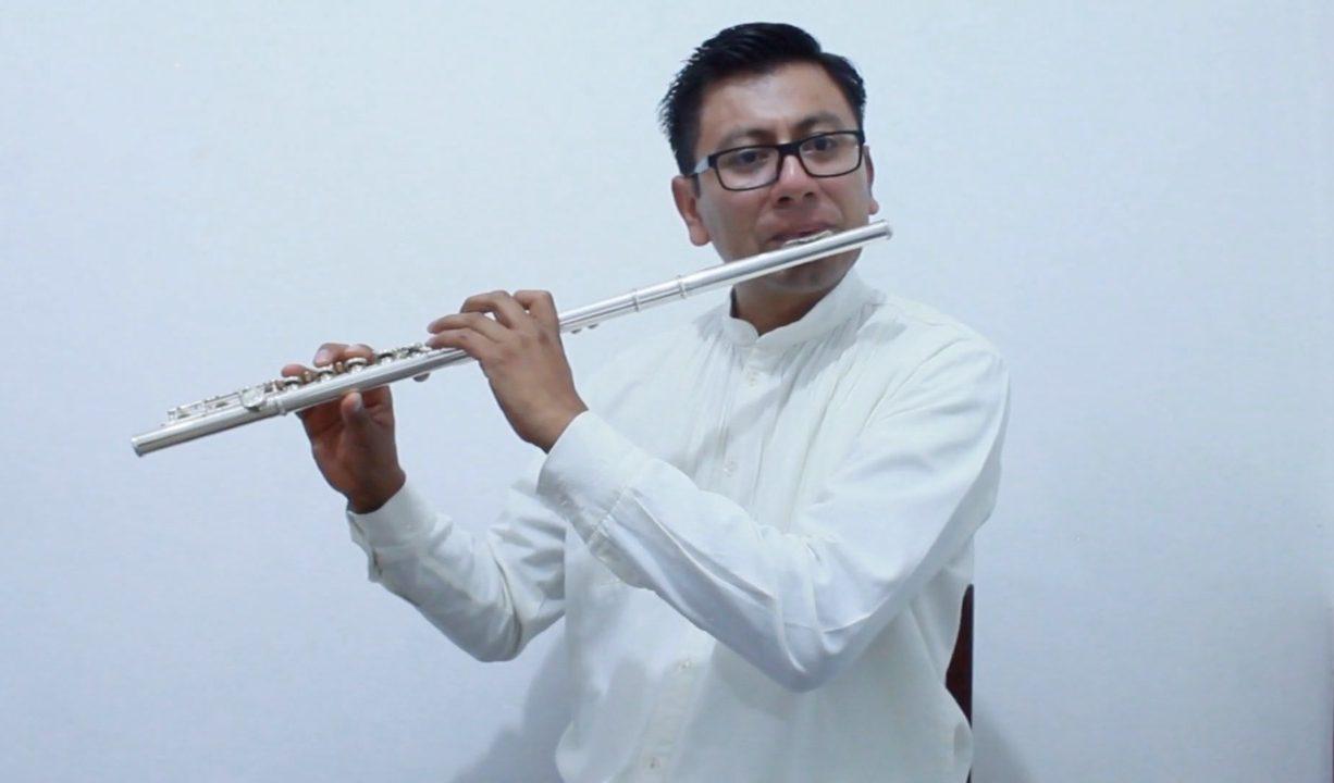 "Presenta Seculta ""Sonando ando: Obra inédita de un flautista Mixe"""