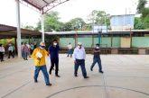 Realiza IEEPO recorrido en municipios de la Costa afectados por el sismo de 7.4