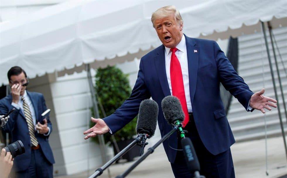 EU estaría 'inundado' por el COVID-19 si no fuera por el muro, dice Trump