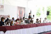 Urgen diputados reconstrucción de zonas siniestradas en la Central de Abasto de Oaxaca