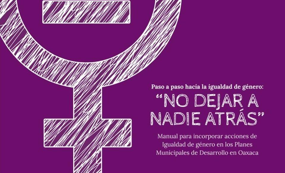 """Presentan Manual """"Paso a paso hacia la igualdad de género"""""""