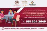 Brinda Ayuntamiento de Oaxaca servicio gratuito de justicia restaurativa a través de la conciliación