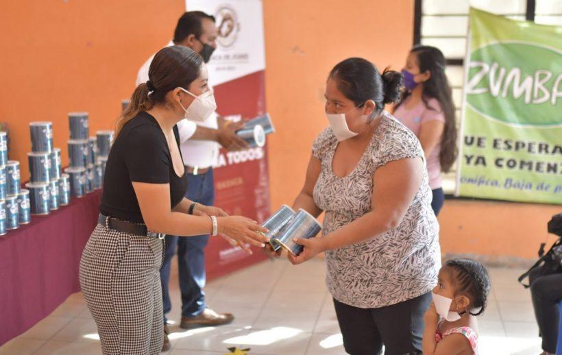 En Montoya, refrenda Ayuntamiento de Oaxaca acompañamiento a niñez durante emergencia sanitaria