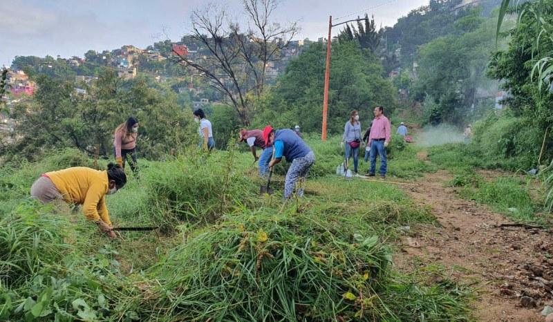 Ayuntamiento de Oaxaca y ciudadanía unen esfuerzos en el Décimo Tercer Tequio Ciudadano