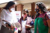 Fortalecen IEEA e IOA servicios educativos a favor de las artesanas y artesanos de Atzompa