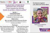 SMO invita a participar en coloquio virtual sobre impacto de Reformas Electorales