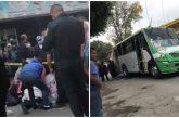 Muere niño de tres años tras ser atropellado por microbús en Magdalena Contreras