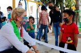 Crear tejido social, construir comunidad y crecer hacia un mejor futuro para niñas y niños nuestra obligación: Ivette Morán
