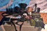 Tras cateo en Juchitán, Fiscalía de Oaxaca aprehende a probable homicida, le aseguraron armas, cartuchos y droga