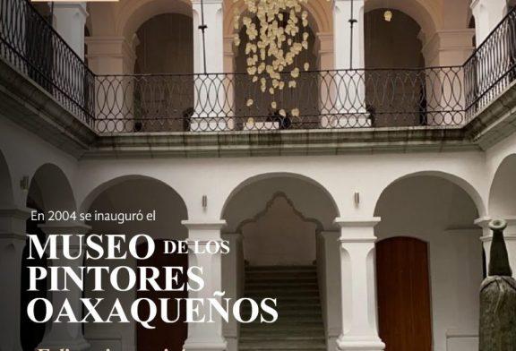 Celebra Museo de los Pintores 16 años como espacio cultural para el arte oaxaqueño