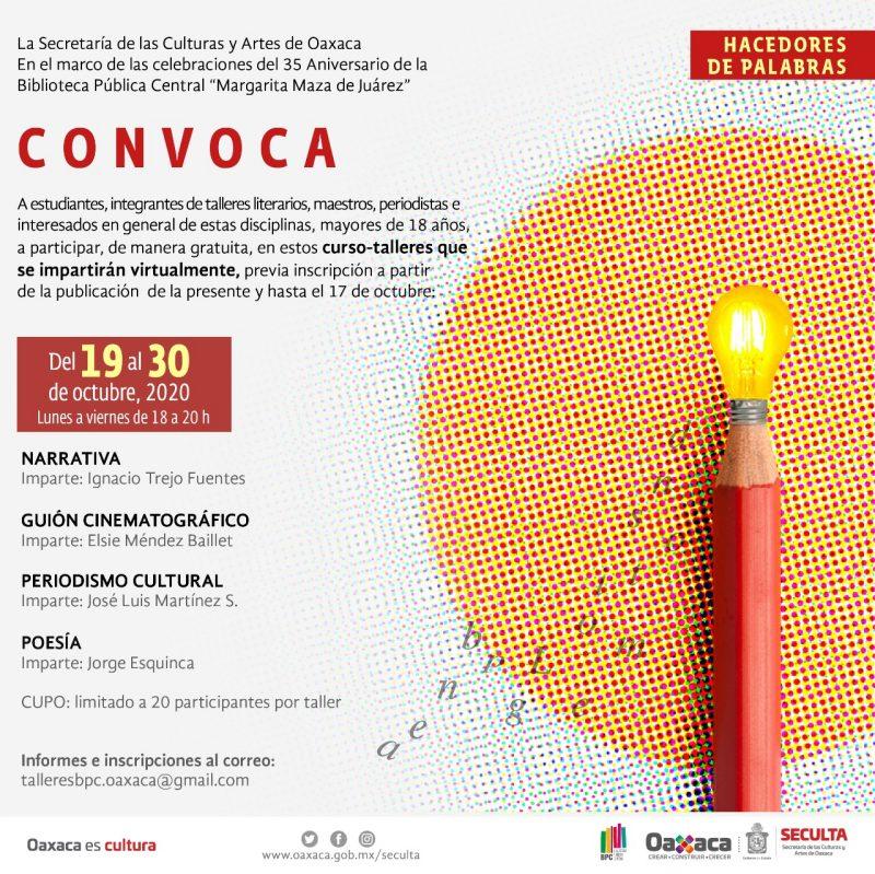 """Celebra Biblioteca Pública Central """"Margarita Maza"""" 35 aniversario con cursos y talleres gratuitos"""