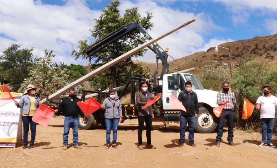 Garantizamos mejores condiciones de vida a las familias xoxeñas: Alejandro López Jarquín