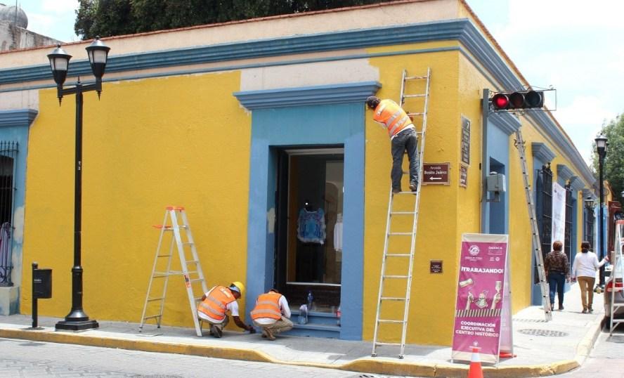 """Interviene Ayuntamiento 35 fachadas con el programa """"Dale color al corazón del Centro Histórico"""""""