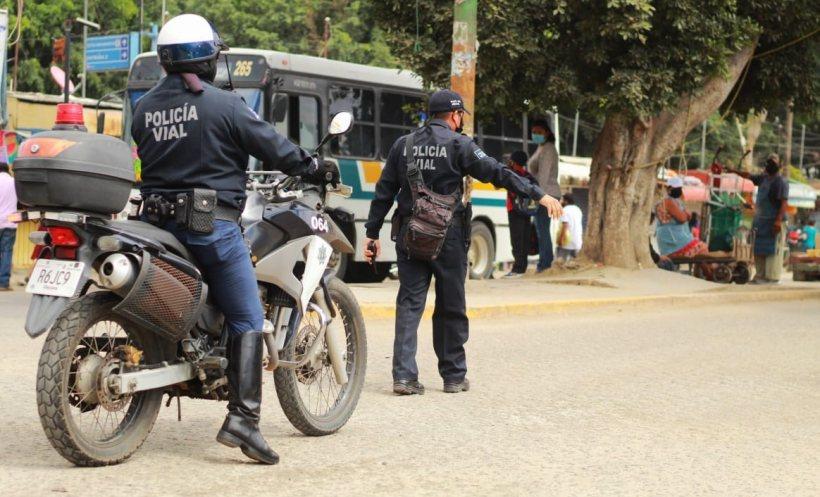 Ayuntamiento de Oaxaca atendió 876 accidentes vehiculares de enero a octubre de este año