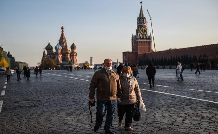 Rusia bate récord diario de contagios y muertes por covid