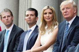 Trump piensa otorgar indulto preventivo a sus hijos, a su yerno y a Giuliani: NYT