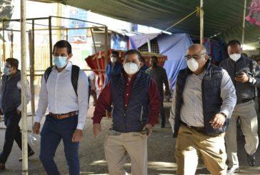 Constata Ayuntamiento de Oaxaca respeto a medidas sanitarias en pasillo comercial de Avenida Central