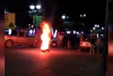Ocurren disturbios en Huajuapan durante la madrugada