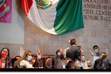 Pide Legislatura de Oaxaca al Gobernador, priorizar a oaxaqueños en su gabinete