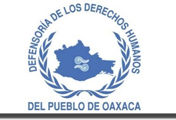 Pide DDHPO respeto irrestricto al derecho de libre expresión y manifestación de las mujeres