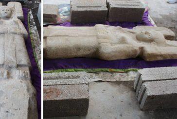 La primera escultura femenina prehispánica en su tipo es hallada en Veracruz