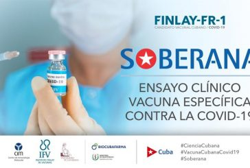 Cuba probará su vacuna anticovid 'Soberana 02' en Irán