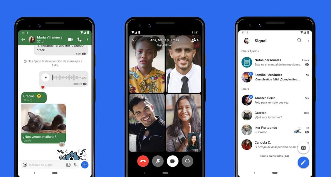 ¿Qué es Signal, la app de mensajería que ofrece privacidad y protege tus datos?