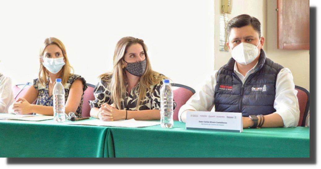 """Gobierno de México implementará en Oaxaca de Juárez el """"Plan de reactivación económica en el sector turismo"""""""