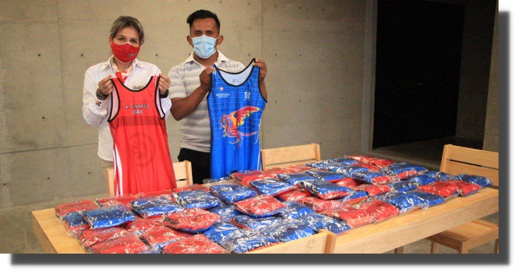 El Incude Oaxaca apoya al equipo de luchas asociadas que participará en el Selectivo Nacional Clasificatorio