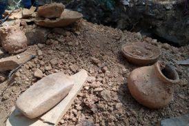 Hallan restos de la nobleza zapoteca en antigua tumba en Ixtlán, Oaxaca