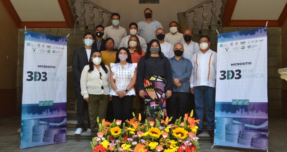 Presentan micrositio 3 de 3 por Oaxaca para incentivar transparencia en proceso electoral