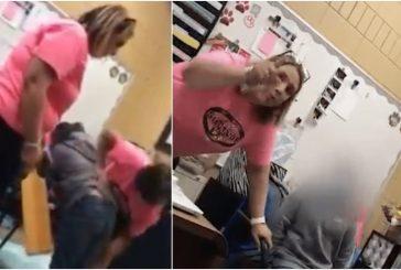 Directora de escuela golpea con una tabla a alumna de 6 años