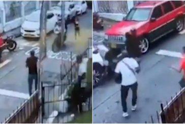 Video: Al puro estilo Jackie Chan hombre abate a ladrones con patada voladora